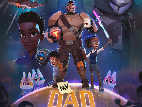 "Hair Love Creator Everett Downing's New Animated series ""My Dad The Bounty Hunter"" lands at Netflix!"