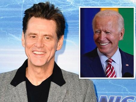 Jim Carrey to play Joe Biden on 'Saturday Night Live'!