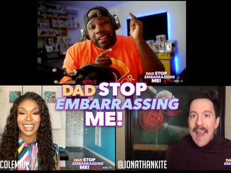 """Dad, Stop Embarrassing Me"" Cast Reflect On Working with Jamie Foxx In The New Netflix Sitcom!"