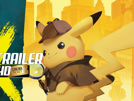 PIKACHU AND OTHER 'POKE'MON' COME TO LIFE IN LIVE ACTION TRAILER!