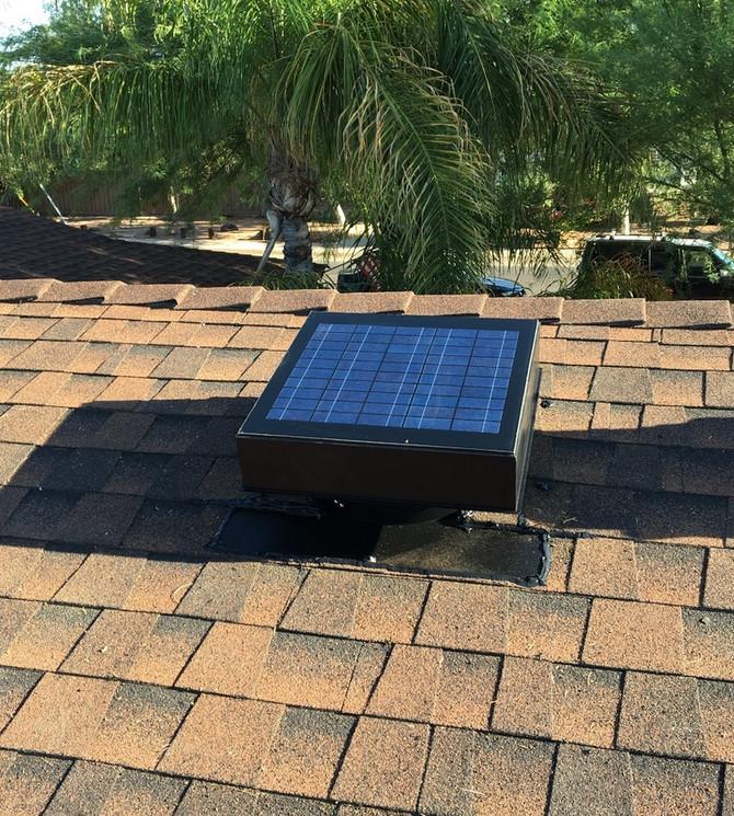 Solar Attic Fans ~Smart Home Comfort