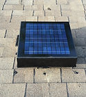 Solar Attic Fan installed by Thermo Shield Insulation Contrators near me