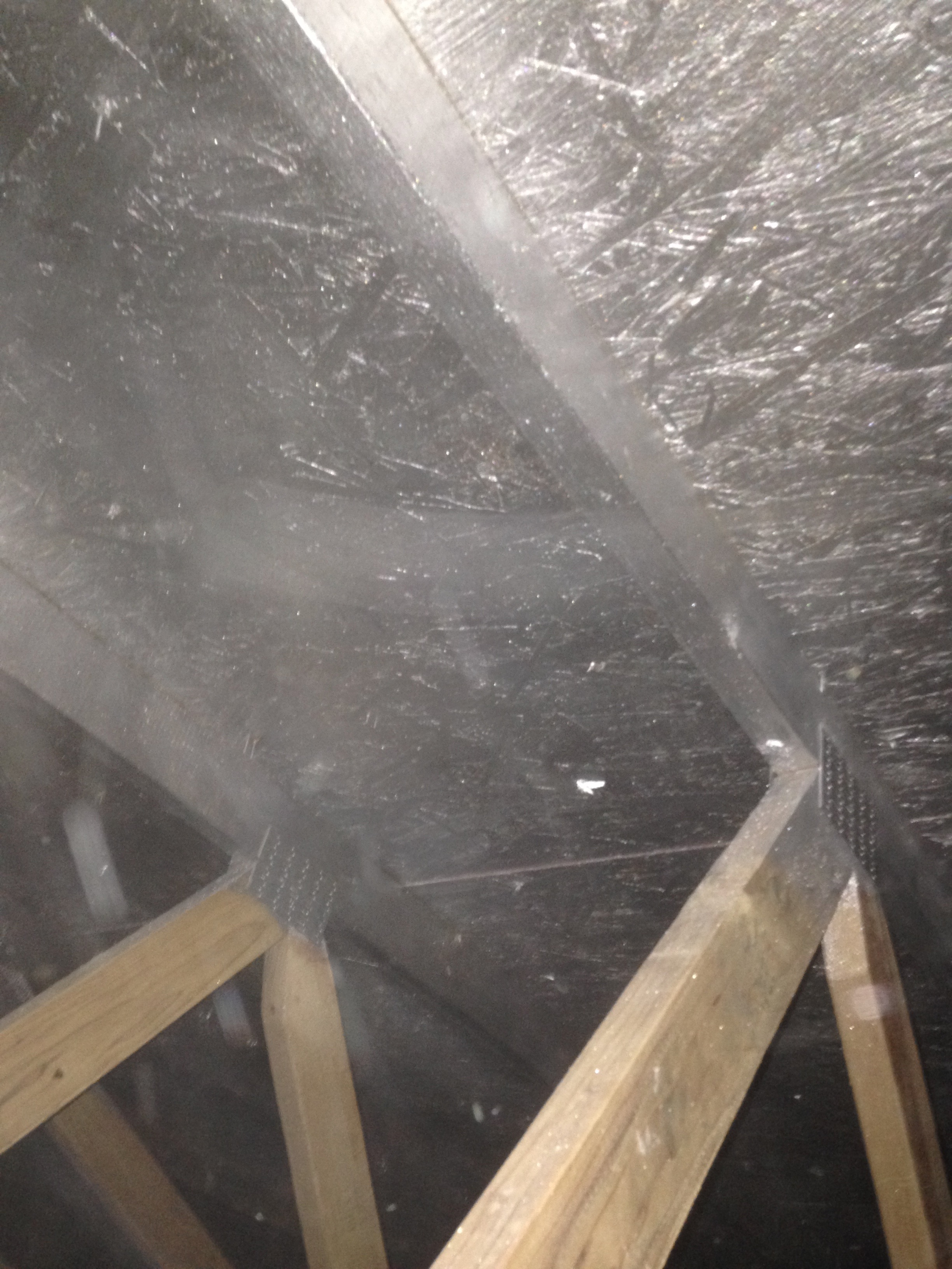 Attic Radiant Barrier