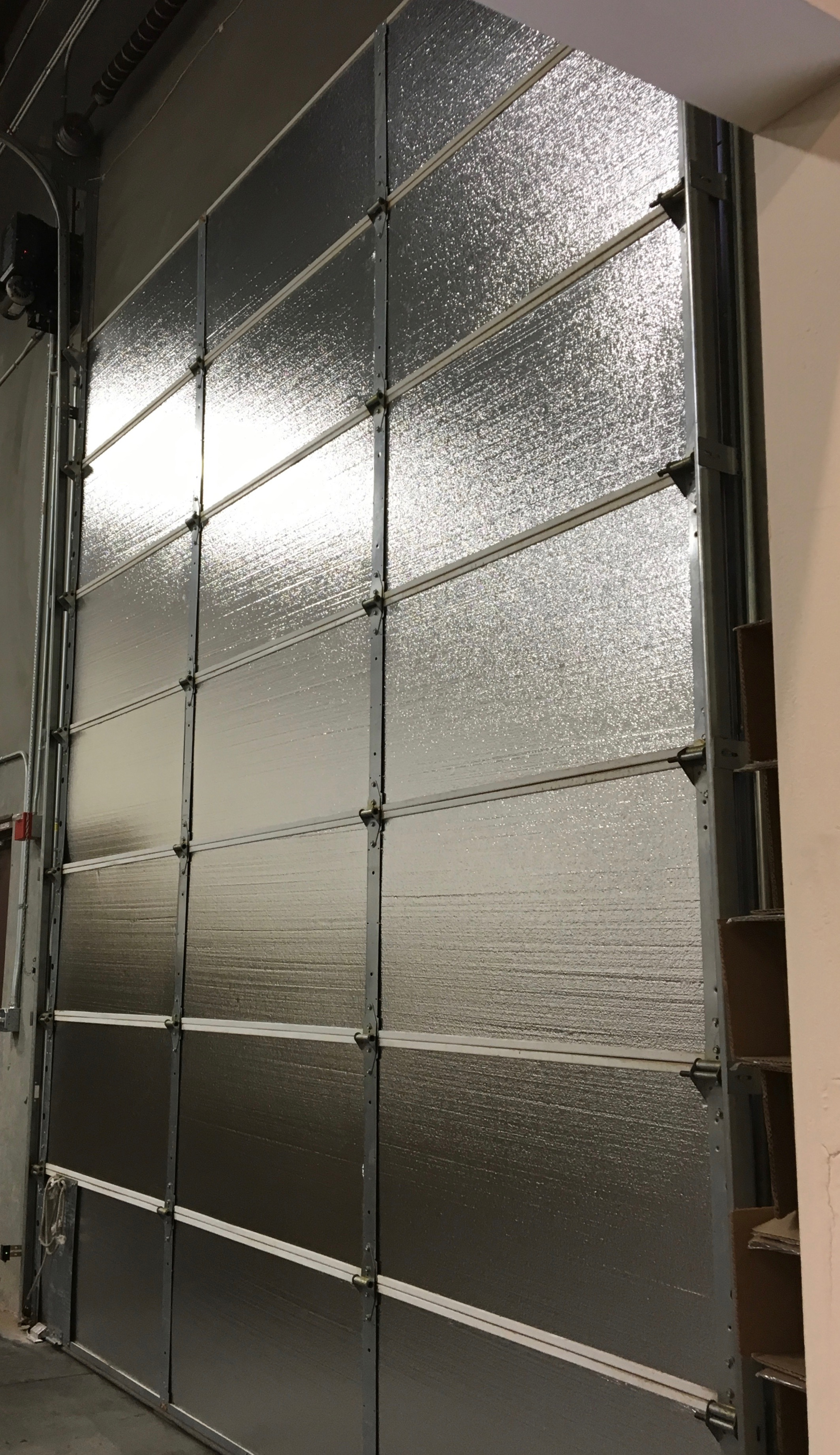 Warehouse Door Insulation