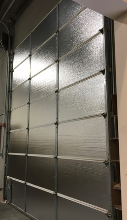Warehouse Door Insulation