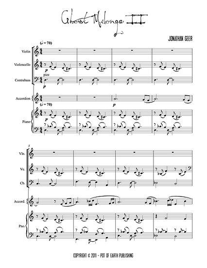 Ghost Milonga II  (Quintet version)