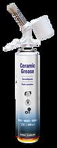 autoprofi seramik gres Bu yüksek ısı macunu seramik bazlı olup ince fırça uygulamasıyla yağlayıcı, ayırıcı ve korozyondan koruyucu özelliğe sahiptir Yanarak korlaşmayı, ısıdan dolayı kaynak oluşmasını, pas çürümelerini ve yağsız kalmayı engeller. Çok iyi bir aşınma ve korozyon önleyicidir. Sıcak ve soğuk suya dayanıklı olduğu gibi asit ve alkali sıvılara karşıda dayanıklıdır. Uygulama: İlgili parçayı temizleyin ve macunu fırça ile yüzeye yedirin.  Isı Dayanıklılığı : -40 santigrat ila +1500 santigrat Araç fren sisteminin tüm hareketli parçalarında, ayar parçalarında ve yatak parçalarında kullanılır. Ayrıca geçme bağlantıları, vida bağlantıları ve makinelerde montaj yardımcı elemanı olarak kullanılır.