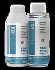 Protec Radyatör İçi Yağ Temizleme Ürün Bilgileri: Tüm soğutma sistemini güvenilir bir şekilde temizler; radyatör kaçakları ve hasarlı silindir kapak contaları nedeniyle oluşan yağlı birikimleri uzun süreli giderir. Motorun normal çalışması sonucu oluşan soğutma suyu çamurunu, kireci, pas gibi diğer kirleri de temizler. İçerdiği yüksek kaliteli yağlayıcı maddeler sayesinde temizleme işlemi ile birlikte tüm metal ve lastik parçalar için mükemmel bir koruma sağlar. Valfler, termostatlar ve devirdaim pompaları en verimli çalışma düzeyine geri döner ve soğutma sisteminin çalışma ömrü artar. Uygulama: Radyatör içindeki kirli ve yağlı suyu boşalttıktan sonra soğutma sistemini temiz su ile çalıştırın ve daha sonra boşaltın. Kullanmadan önce kutuları iyice çalkalayın! Her iki kutunun (K1 & K2) içeriğini soğutma sistemine boş iken dökün ve suyu tamamlayınız. Kaloriferi sıcak konumda ve en yüksek fan ayarında çalıştırın. Motoru normal çalışma hararetine gelene kadar 1500–2500 devir aralığında y