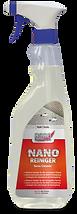 nano tekstil temizleme ve tazeleme spreyi Uzun süreli koruma için; uygulama yapılmış kumaş yüzeylerde, temizlik yapmak için yüksek etkili bir üründür.  Uygulama: Kullanmadan önce İyice çalkalayın. Temizleyici, suya dayanıklı ve boyalı yüzeylerde fırça ile hafifçe üzerinden geçilir.Sonrasında yüzey nemli bir bez ile silinir.Kirliliğin yoğunluğuna göre, kısa bir etki için beklenebilir.