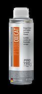 PROTEC Oxicat/Katalizör ve Oksijen Sensör Temizleyici, reçineleşmeler, sakızlaşmış kirlilikleri ve kurum artıklarını tüm egzoz siteminden, özellikle katalitik konvertör, oksijen/lamda sensörü ve turbodan eriterek atar. Benzinli, Dizel ve Hybride araçlar için uygundur.