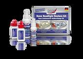 Nano far temizleme ve parlatma seti  Matlaşmış ve çizilmiş plastik farların temizliğinde kullanılır. Bu sayede iyi bir aydınlatma ve görüş netliği sağlanır. Nano-Kaplama ile uzun süreli koruma sağlanır.