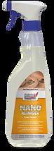 Nano ahşap ve taş temizleme ve tazeleme spreyi Ahşap ve Taş malzemelerde uygulama yapılmış olan yüzeylerde temizlik, bakım ve tazeleme için kullanılır. Uygulamanın dayanıklılık süresini uzatır.