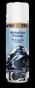 Motosiklet PROTEC Motosiklet Cilası PROTEC Motosiklet Cilası özel formüle edilmiş bir mumlar karışımdır. Uygulandığı yerde hem hoş bir parlaklık hem de yolun toz ve kirine karşı uzun süre dayanıklı koruyucu bir tabaka oluşturur. 