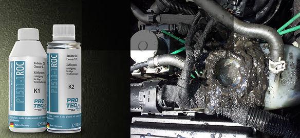 Protec Motor Soğutma Sistemi Temizlik ve Bakım Ürünleri Radyatör