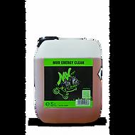 MUD ENERGY CLEAN, Fren tozları, Kurum, Böcek-Gres- ve Yağ kalıntılarının temizleyen yüksek konsantreli alkali, bol köpüren bir temizleyicidir. Aşırı kirli yağ kalıntılarını temiziler ve parçayı korur. Motosiklet MX Temizleme Deterjanı Basınçlı Makineler için