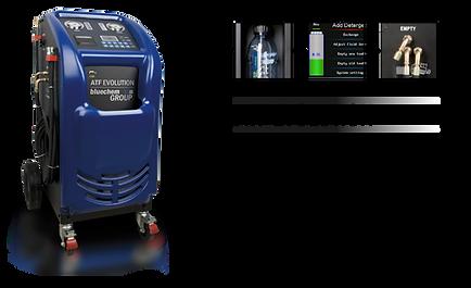 otomatik şanzıman temizleme ve yağ değişim makinesi