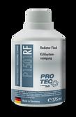 Protec Radyatör Temizleyici Ürün Bilgileri: Tüm Benzinli ve Dizel motorlarda talimata uygun kullanıldığında; Yıkama sırasında tüm metal ve lastik parçaları korur. Alkalin tortularını giderir. Soğutma sisteminin ömrünü uzatır. Kalorifer radyatörünün de içini yıkar. Uygulama: Kutu içindeki sıvıyı soğutma sisteminin içine boşaltın. Tüm kalorifer komut düğmelerini sıcak konumuna getirin. Motoru 10 - 15 dakika süreyle çalıştırın. Sistemi tamamen boşaltın ve Antifrizli suyla doldurun. Yıkamadan sonra temiz suya AUTOPROFI Radyatör Suyu Katkısı katmanız tavsiye edilir.