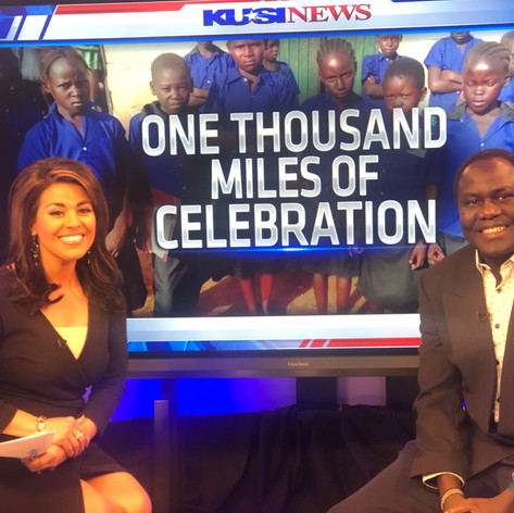 At KUSI About Fundraiser event