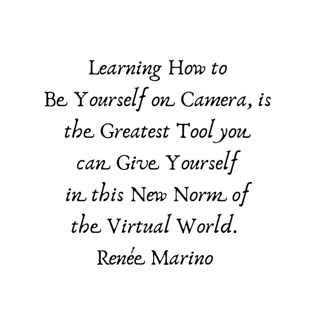 Learning to How to Be Yourself on Camera