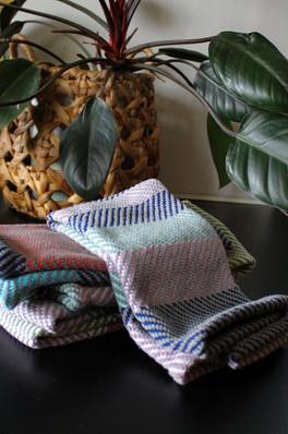 Handwoven Towels. 100% Cotton