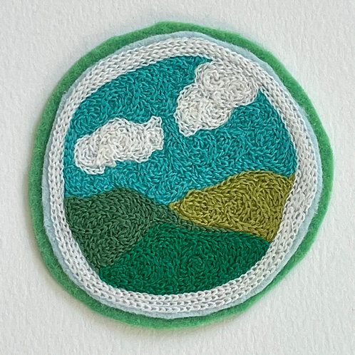 Blue Skies Patch