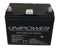Bateria selada Unipower UP12350