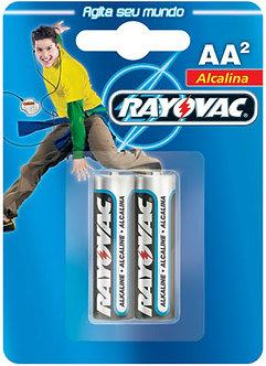 Pilha alcalina Rayovac-AA
