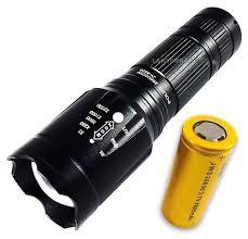 Lanterna tática - Lanterna Tática Fusion II Super Compacta 1.460.000 Lumens Bate