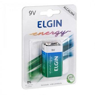 Bateria alcalina Elgin- 9V
