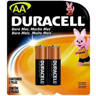 Pilha alcalina Duracell-AA