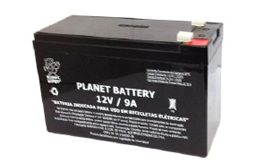 Bateria selada Planet 12V 9ah