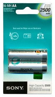 Pilha recarregável Sony-AA (com duas) 2500 mAh