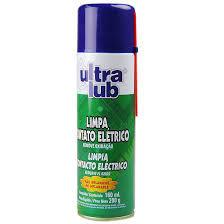 Limpa Contato Elétrico 160ml Ultralub - 11622