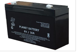 Bateria selada Planet 6V 10ah
