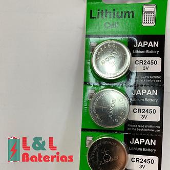 Lithium CR2450 3v