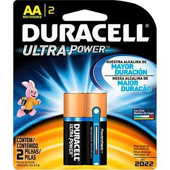Pilha alcalina Duracell-AA (Ultra power)