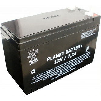 Bateria selada Planet 12V 7.2ah