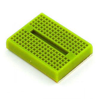 Protoboard 170 pontos Verde Fluorescente