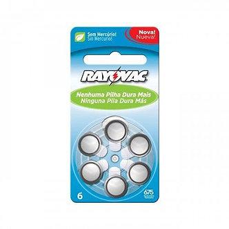 Bateria Auditiva 675 1,4v Rayovac