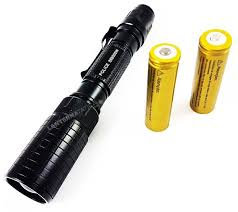 Lanterna Tática Gold II Profissional 888.000w e 1.490.000 Lumens LED T6 L2 Super