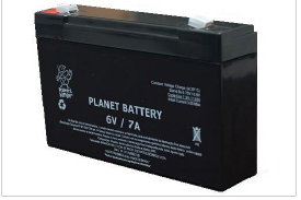 Bateria selada Planet  6V 7ah