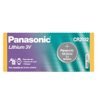 Bateria Panasonic Lithium 3v Cr2032