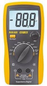 Capacímetro Digital Hikari Hcp-100 - Mede Qualquer Capacitor