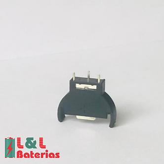 Suporte Vertical Bateria Botão Cr2025 2032 2016 Adaptador