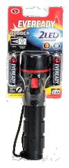 Lanterna-Rubber Led 2AA