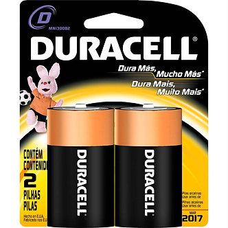 Pilha alcalina Duracell-D