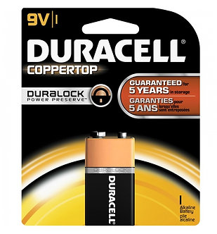 Bateria alcalina Duracell-9V