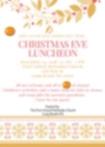 Christmas Party Invitation (Portrait) (1
