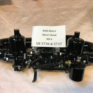 Rolls Royce Silver Cloud SU HD6 carburet
