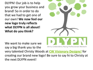 Derry Londonderry Young Professionals Network (DLYPN) New Logo Design!